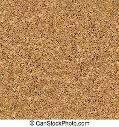 Brown Cork Surface. Seamless Texture.