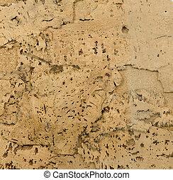 brown cork tile