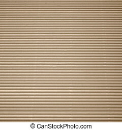 Brown corrugated cardboard with background