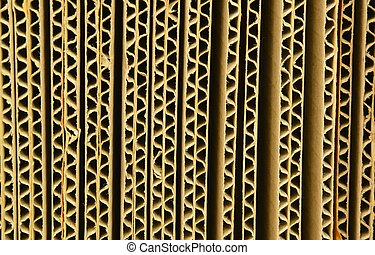 brown corrugated paper box texture and background
