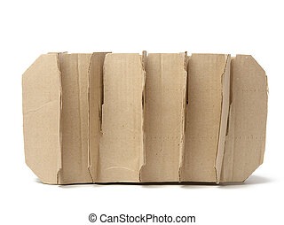 brown corrugated paper interior partitions for glass bottle transport box