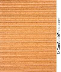 brown corrugated paper