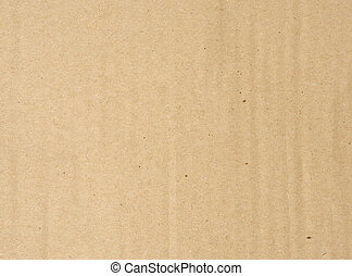 brown corrugated paper texture, full frame