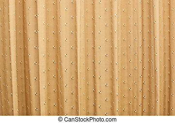Brown curtains A beautiful pattern