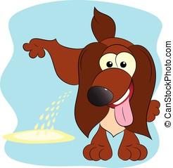 brown dog hooligan