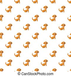 Brown dog pattern