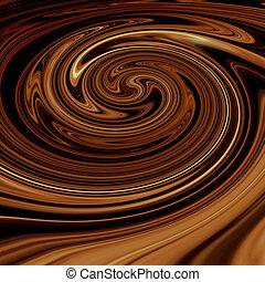 Brown dynamic waves