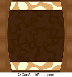 Brown elegant background
