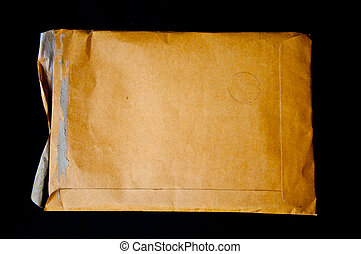 Brown envelop