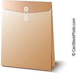 Brown envelope A4