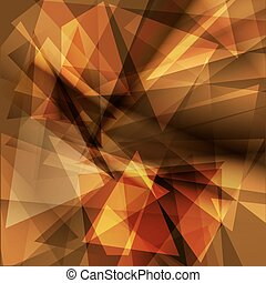 Brown geometric background for design