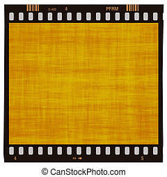 brown grunge frame filmstrip