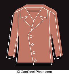 Fleece jacket Vector Clip Art EPS Images  271 Fleece jacket clipart