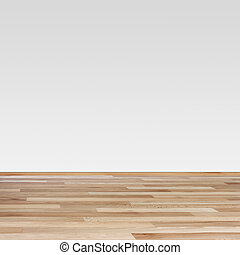 Brown laminate and white wall - Brown laminate Texture and...