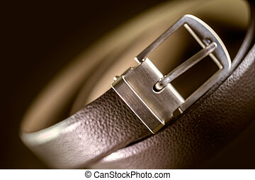 Brown Leather Belt Fashion Lifestyle