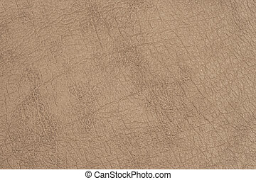 Brown leather close-up for background.
