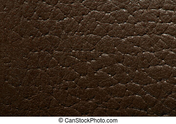 Brown leather material background