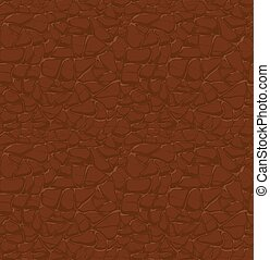 brown leather pattern, seamless relief
