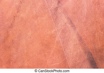 Brown leather texture as background