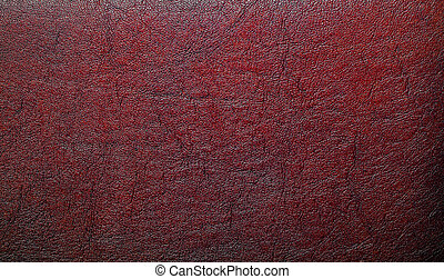 Brown leather texture, as background