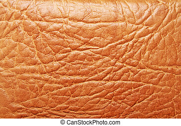 Brown leather texture, can use as background