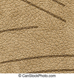 brown leather texture with abstract lines
