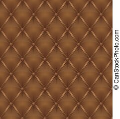 brown leather upholstery seamless