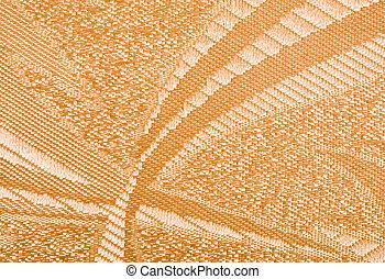 Brown Linen Cloth Background