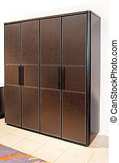 Brown locker