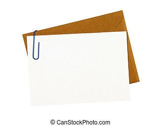 opening envelope letter top secret information blank copy space