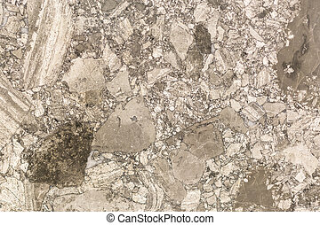Brown marble with a beautiful pattern. background