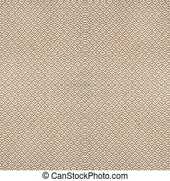 Brown material texture with pattern for background