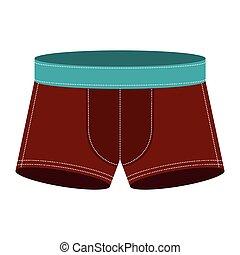 brown men swimming boxer icon