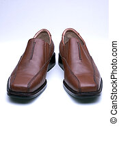 Brown Mens Dress Shoes - Brown Leather Mens Dress Shoes...