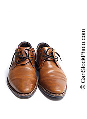 Brown mens shoes