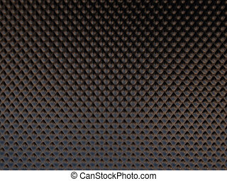 Brown metal surface