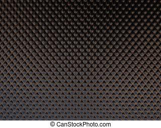 Brown metal surface