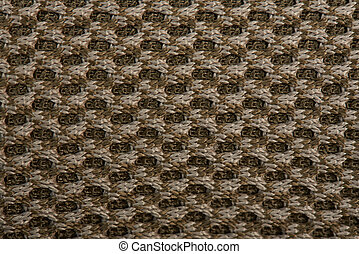 Brown military fabric background
