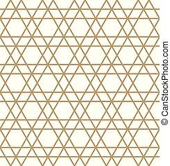 .brown, muster, abstrakt, linien, seamless, hintergrund, geometrisch, weißes