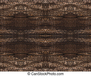 Brown natural color of a wooden texture