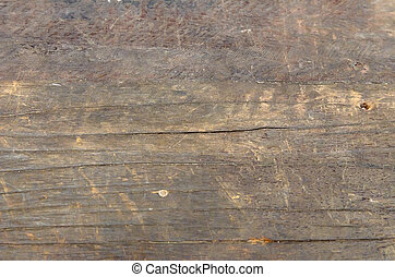 Brown Old wooden texture used as background