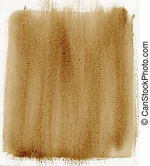 brown painted background with canvas texture