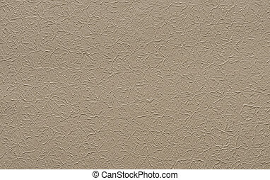 Brown paper with plaster texture