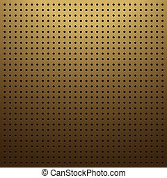 Brown pegboard background - Blank brown pegboard background