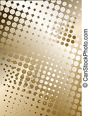 brown poster background - metal background with dots