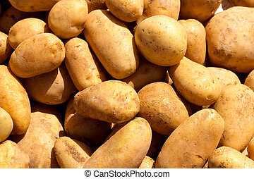 brown potatoes pattern texture