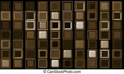 brown rectangle matrix,chocolate