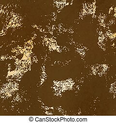 Brown retro dirty grunge texture on old paper, seamless pattern