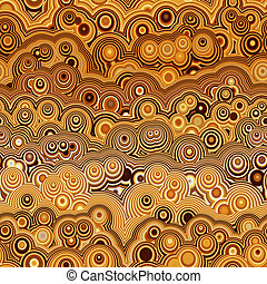 brown retro ring pattern - texture of explosion of bubbles...