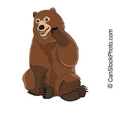 Brown Russian Bear